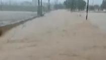西班牙東部遭洪水侵襲