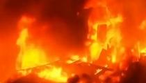 悲劇!突發大火 貧民窟上萬人無家可歸