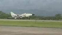 海軍航空兵轟炸機南海海域實彈打靶