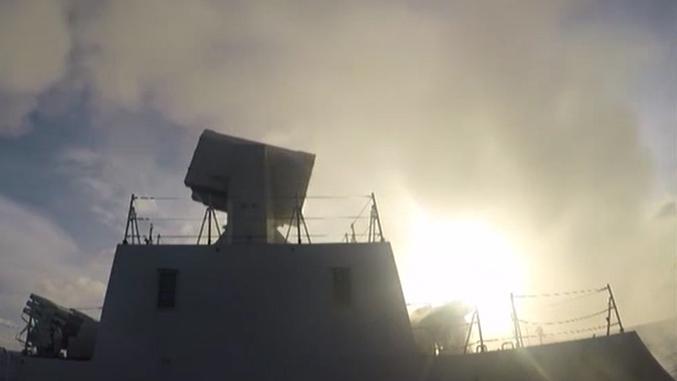 海軍:遠海聯合訓練編隊組織防空演練