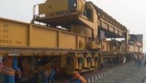 陜西:銀西高鐵陜西段鋪軌工程全面復工