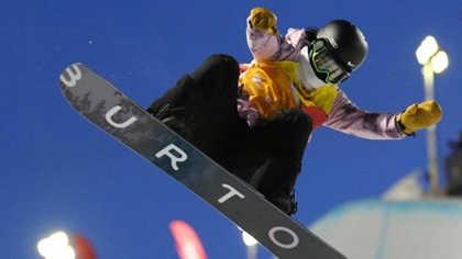 蔡雪桐獲得單板滑雪技巧類項目世界杯總冠軍