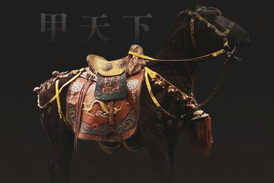 【草原寶藏④ 】鎏金馬鞍