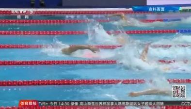 短池遊泳世錦賽中國隊正式名單公布