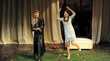 藍盈瑩:演話劇竟是救場
