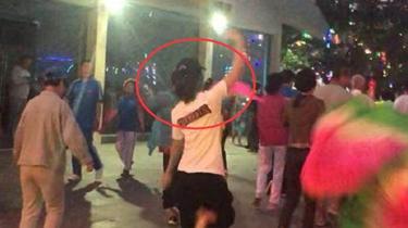 劉濤愛上廣場舞?
