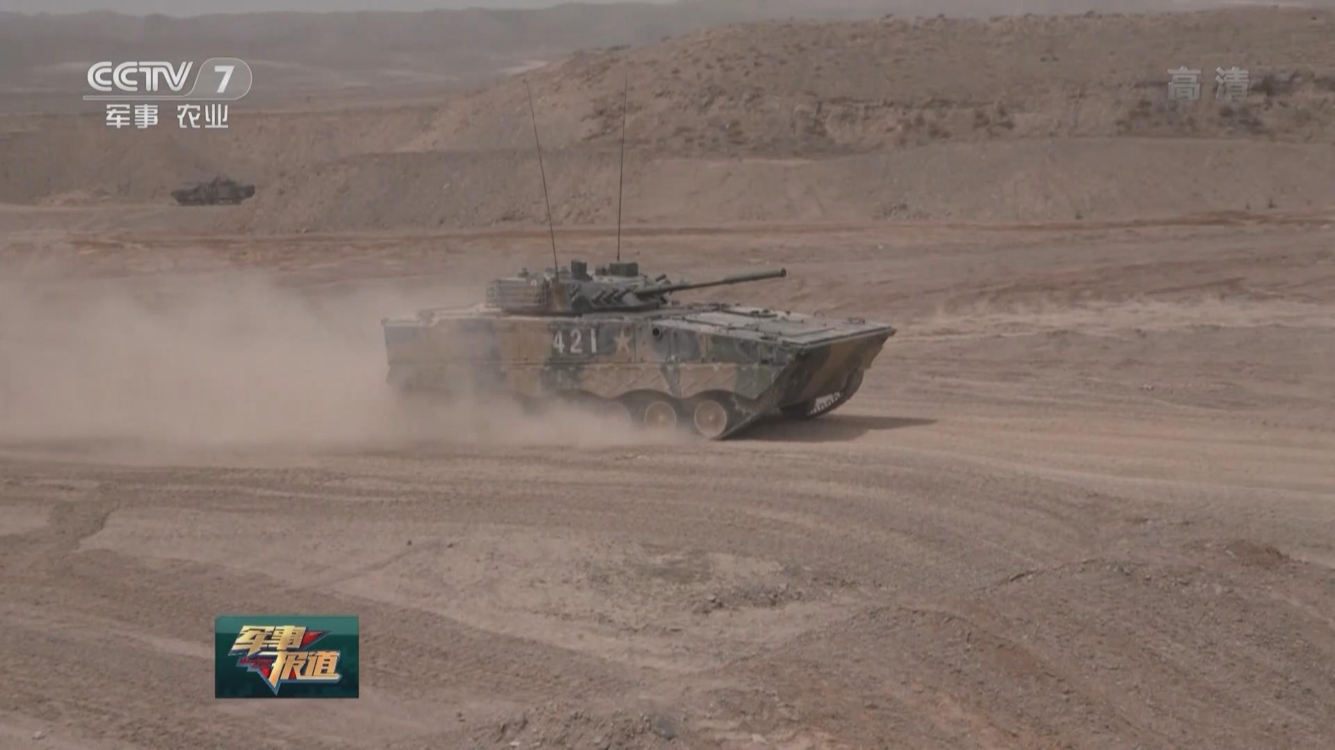 西北戈壁 實彈射擊檢驗作戰效能