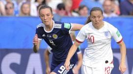 2019女足世界杯·D組:英格蘭2比1蘇格蘭