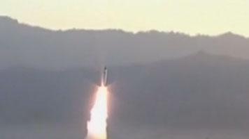 韓國軍方:朝鮮今晨發射兩枚不明飛行器