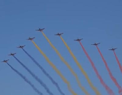 人民空軍成立70周年航空開放活動