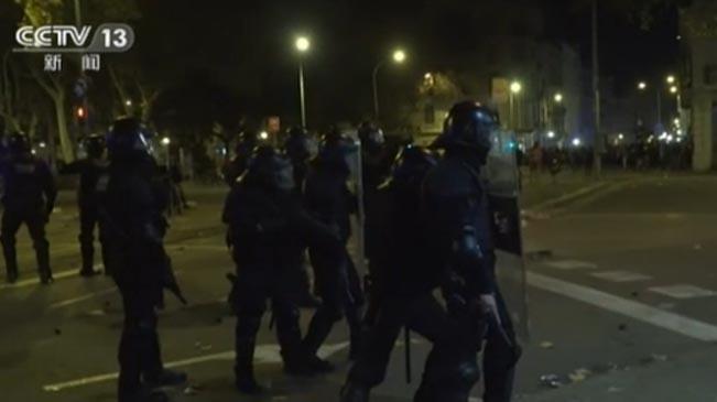 西班牙:警方驅散示威者 已有數百人被捕