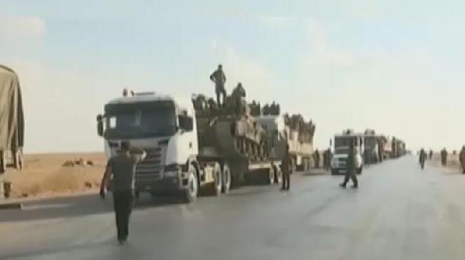 敘媒:政府軍部署拉卡 美軍繼續撤離