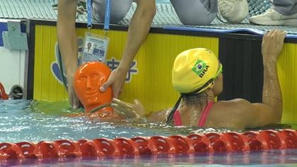 海軍五項舉行個人救生遊泳比賽