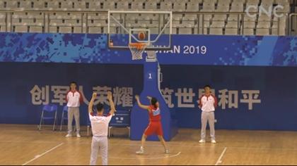 空軍五項舉行女子籃球比賽