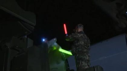 火箭軍某導彈旅:全流程滿負荷 開展夜間戰備拉動訓練