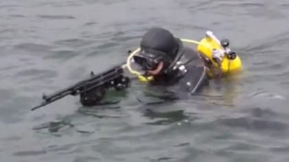 俄國防部公布蛙人部隊演練視頻