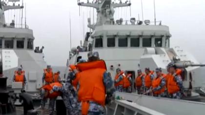 海軍:全天候多課目 艦艇編隊實戰化對抗訓練