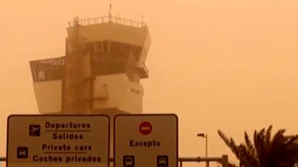 西班牙:沙塵暴席卷大加那利島 所有航班暫停