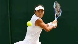 WTA卡塔爾公開賽:張帥止步首輪