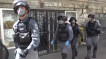 強硬!嚴格執法 以色列軍隊巡街、無人機監控