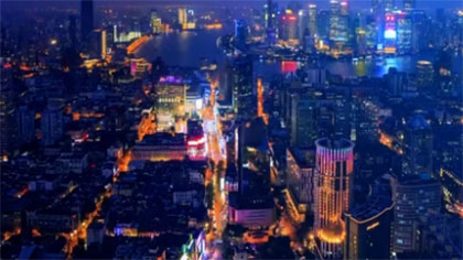 """""""夜經濟""""點亮消費市場:上海——夜經濟拉動餐飲業復蘇"""