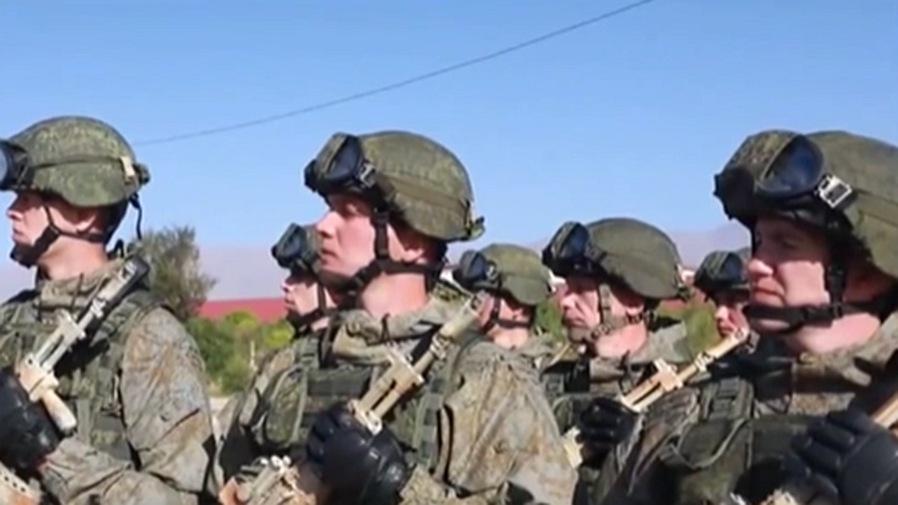 """吉爾吉斯斯坦:集安組織舉行""""邊界-2021""""軍事演習"""