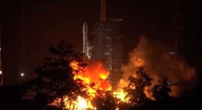 我國成功發射中星9B衛星