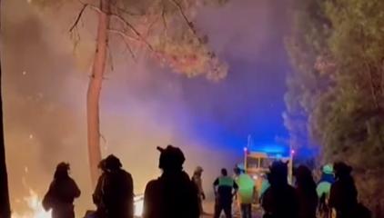 西班牙:馬拉加省發生森林火災 超400名居民被疏散