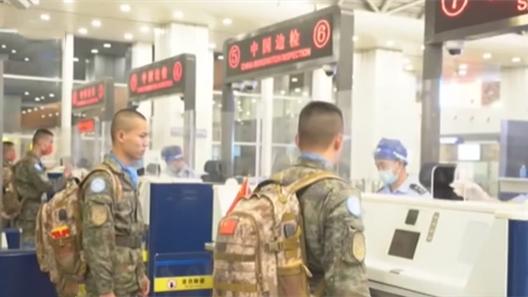中國第25批赴剛果(金)維和部隊出徵