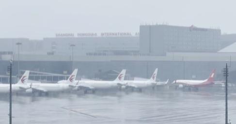 上海:虹橋 浦東機場今天逐步恢復進出港航班