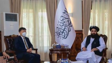 阿富汗:阿富汗臨時政府代理外長會見我駐阿大使