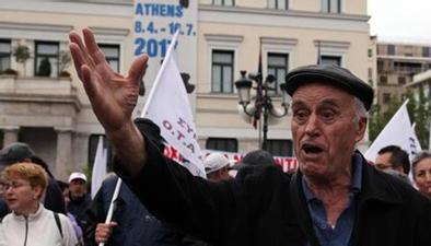 抗議財政緊縮方案 希臘全國總罷工
