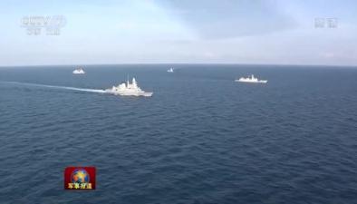 第26批護航編隊結束對法國訪問啟程回國