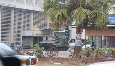 津巴布韋軍方否認發動軍事政變