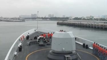 海軍運城艦赴印度洋參加多邊海上演習