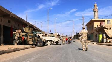 伊拉克政府軍收復極端組織在伊最後據點