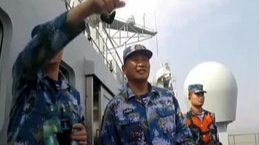 海軍:實兵實裝海上綜合作戰支援演練