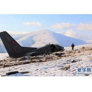 土耳其一架軍用運輸機墜毀三人喪生