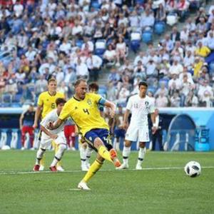 [體育晨報]瑞典點球小勝韓國