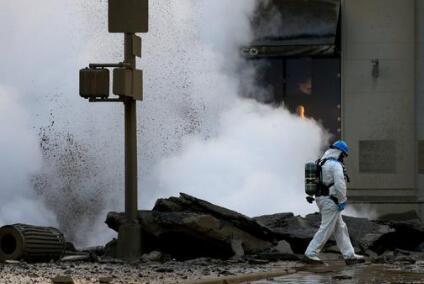 曼哈頓一蒸汽管道爆炸