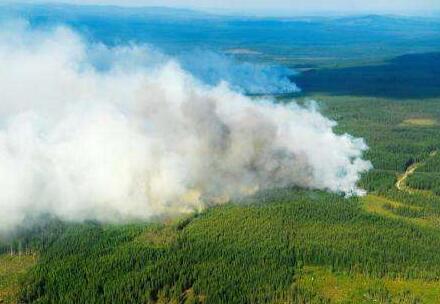 瑞典森林大火持續蔓延