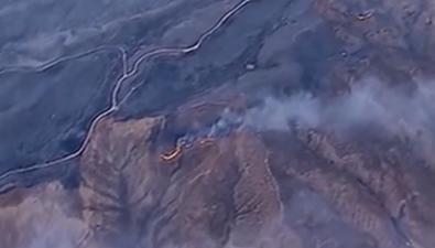 美國加州山火蔓延