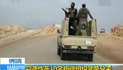 伊拉克:空襲炸死10名極端組織武裝分子
