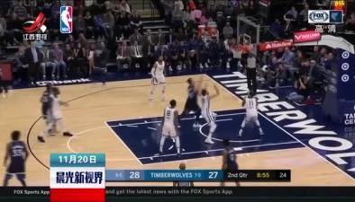 NBA:灰熊100:87擒森林狼