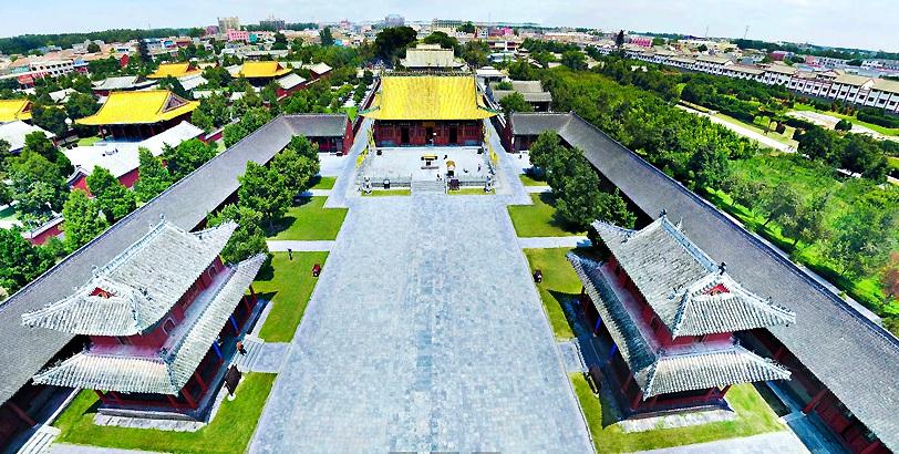 【全景航拍】皇朝祖聖地---太昊陵
