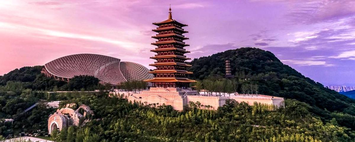 新華VR帶您遊覽金陵四十八景之一牛首山
