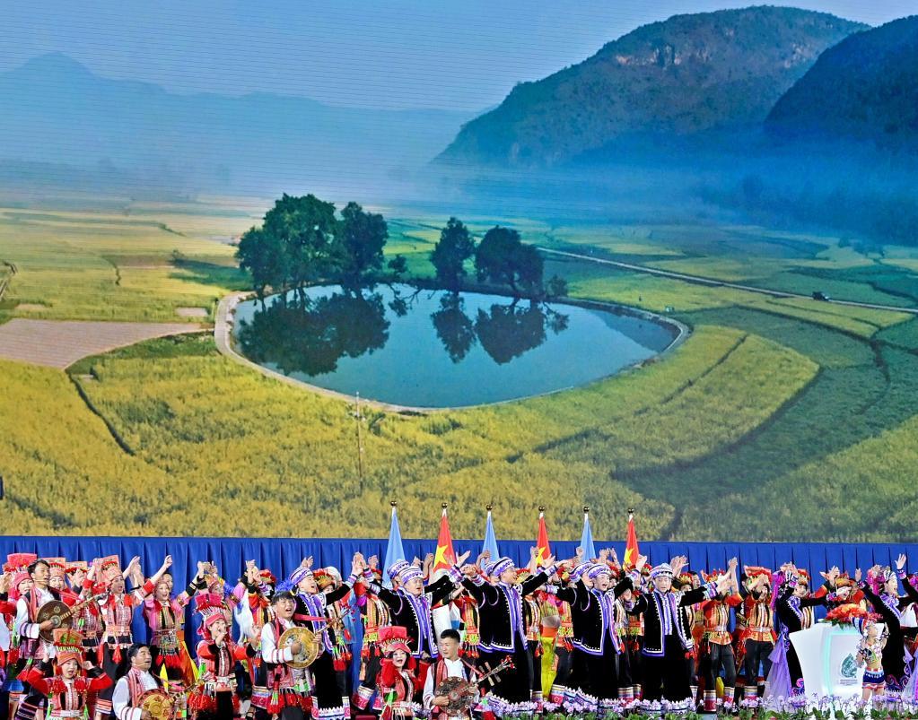 在春城开启人与自然新未来——《生物多样性公约》第十五次缔约方大会开幕式的五个瞬间