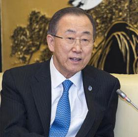 專訪聯合國秘書長潘基文