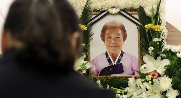 韓國又一慰安婦去世 幸存者減至37人