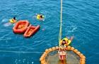 中歐航天員海上救生訓練 楊利偉景海鵬參加